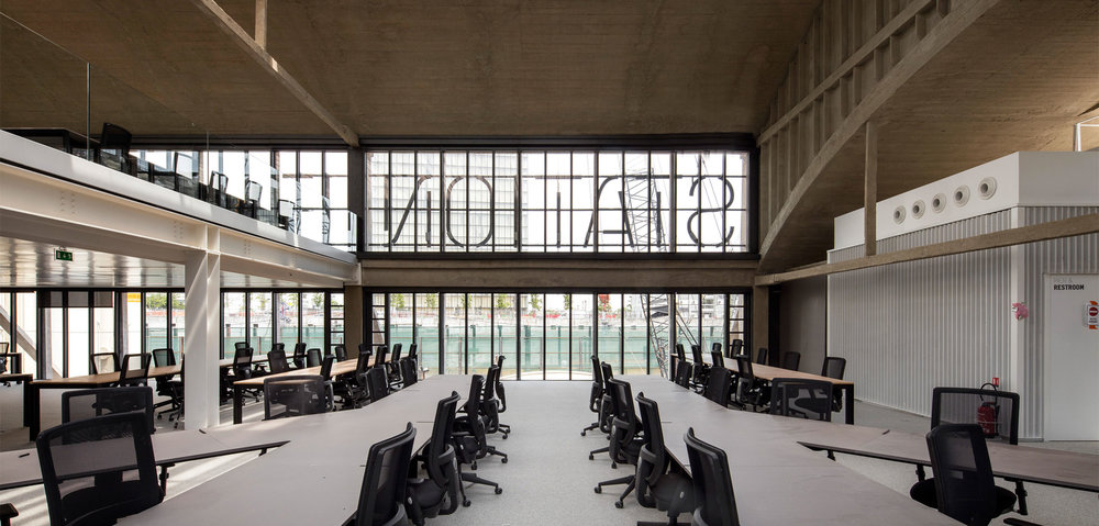 Inside the huge 34,000 square meters of Station F in Paris              Photo: Station F