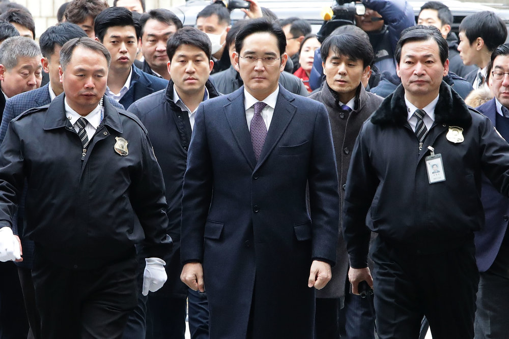 Samsung's Lee Jae-yong faces up to 12 years in jailPhoto by Chung Sung-Jun/Getty Images News / Getty Images