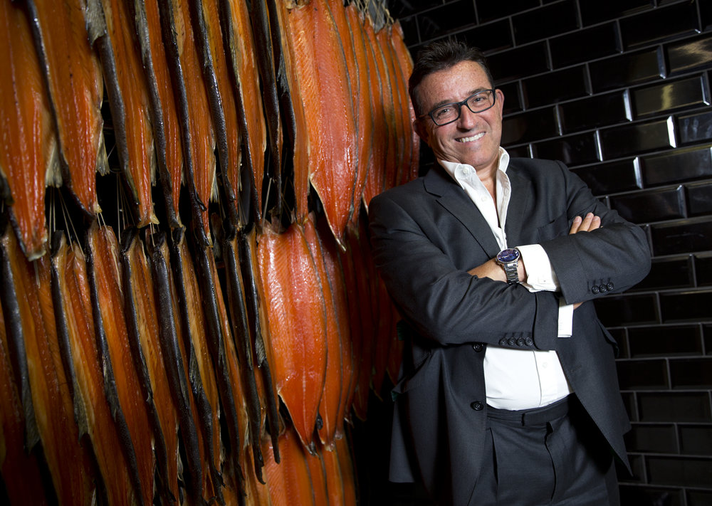 Lance Forman: The owner and chairman of fourth generation smokehouse H Forman & Son