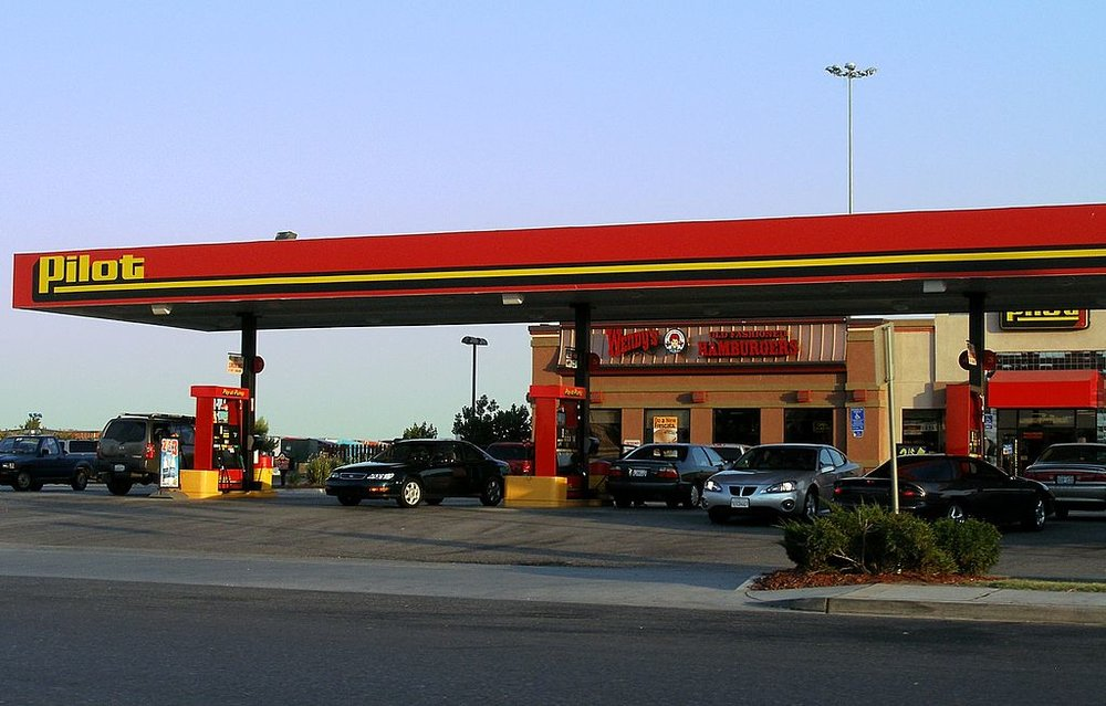 Pilot Flying J has more than stations throughout the US       Photo: Wikimedia