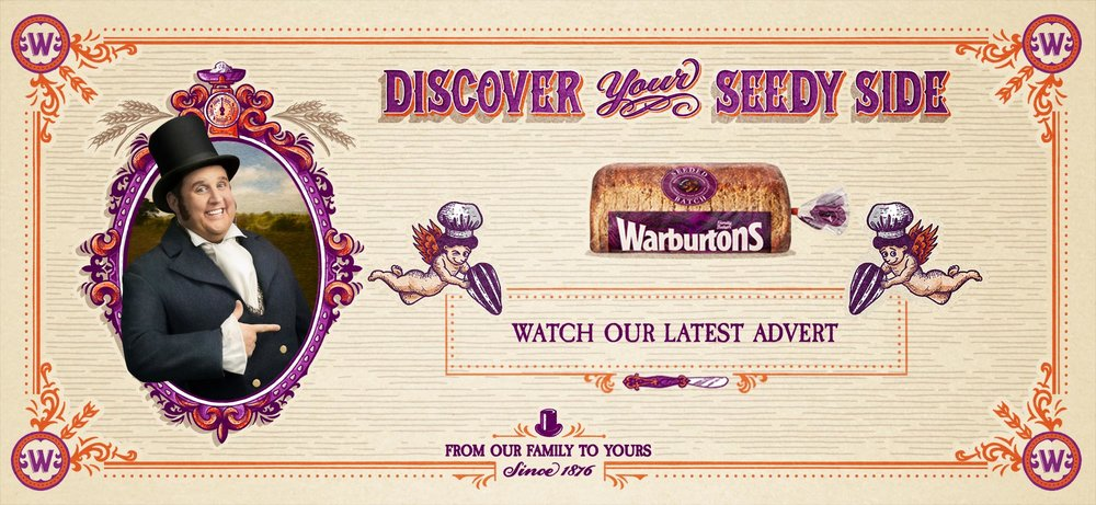 Warburtons new ad campaign