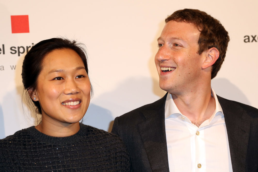 Mark Zuckerberg and his wife Priscilla Chan - the template for millennials   Photo by Adam Berry/Getty Images Entertainment / Getty Images
