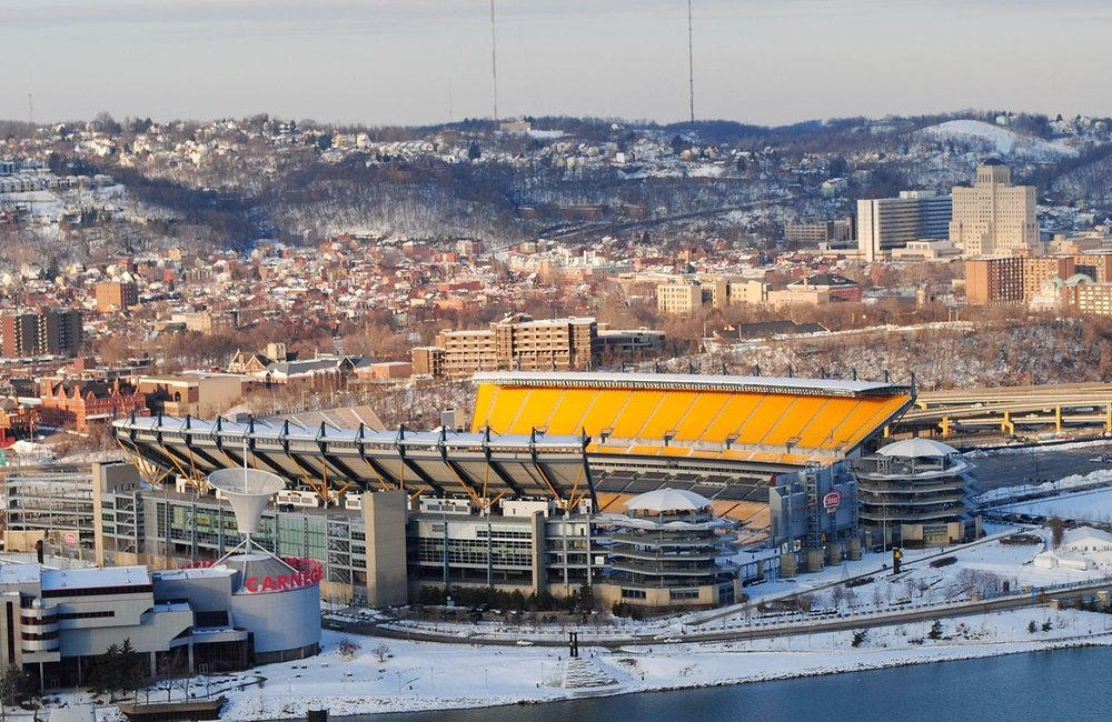 Heinz Field, the home of the Pittsburgh Steelers                          Photo: Wikimedia