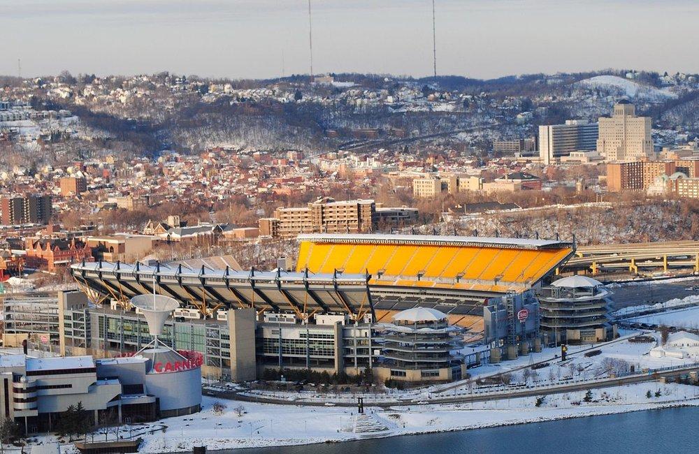 Heinz Field, the home of the Pittsburgh Steelers             Photo: Wikimedia