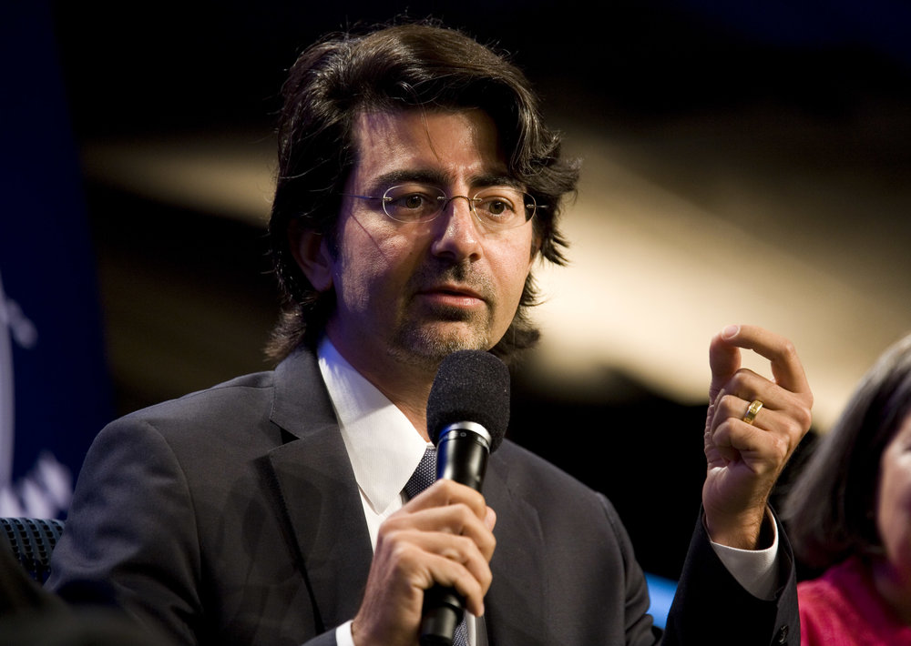 Pierre Omidyar's investment office is fast setting the standard in impact investing    (Photo by Brian Harkin/Getty Images News / Getty Images)