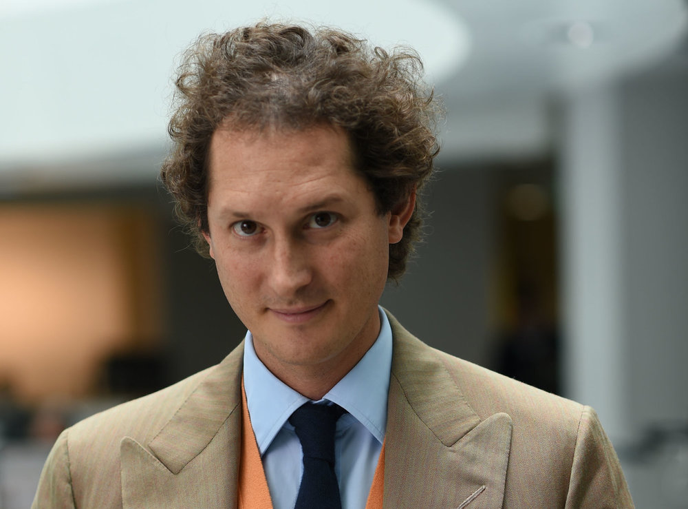 John Elkann runs one of the world's biggest diversified holding companies - time to invest in it?  (photo; Exor)
