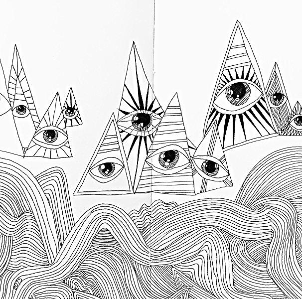 Mambo in the Sky Sketch