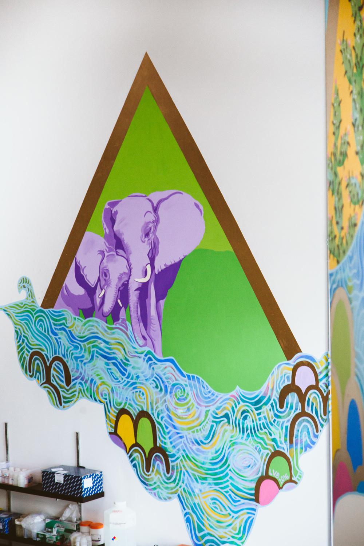 Teneo Bio Mural