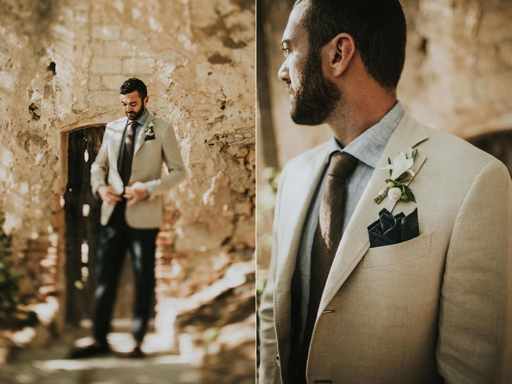 groom wedding portraits