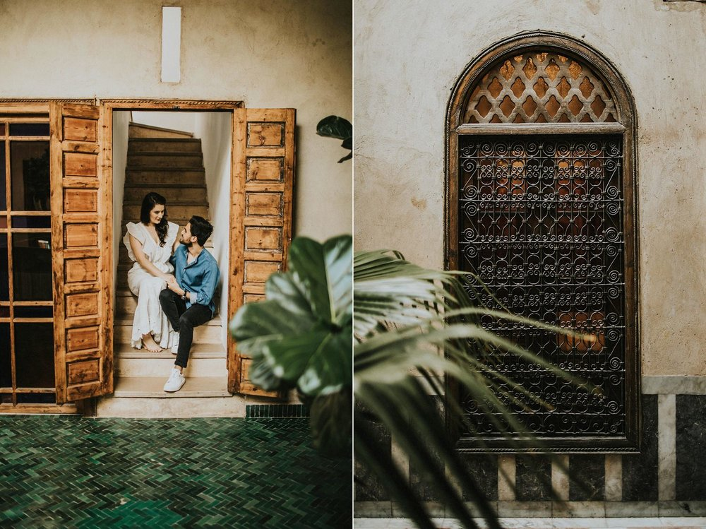 el fenn pre wedding in marrakech