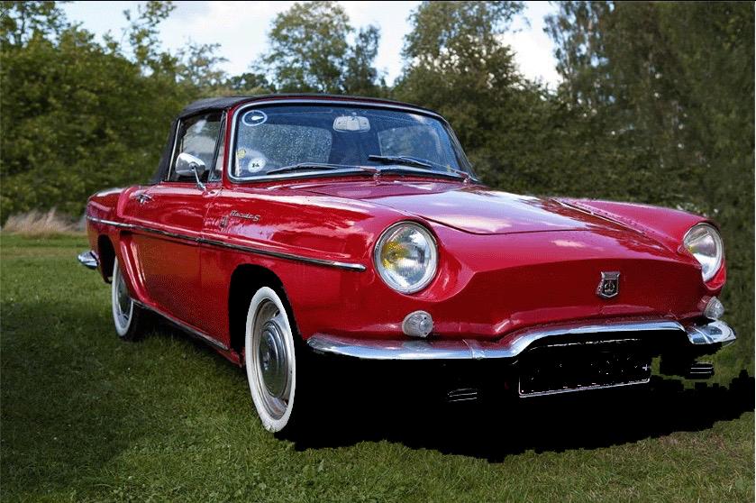 "1962-modellen fik tilnavnet ""S"". Gællerne er borte, og motor, undervogn og teknik er hentet fra den nye R8."
