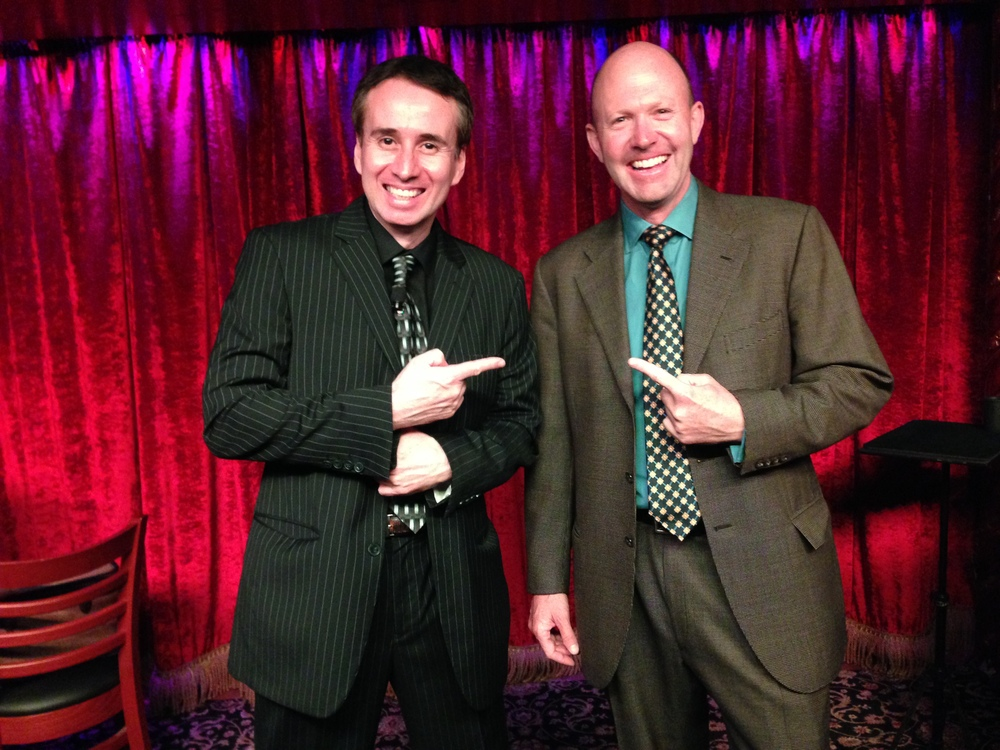 Lou Serrano and Mark Furey at the Magic Castle