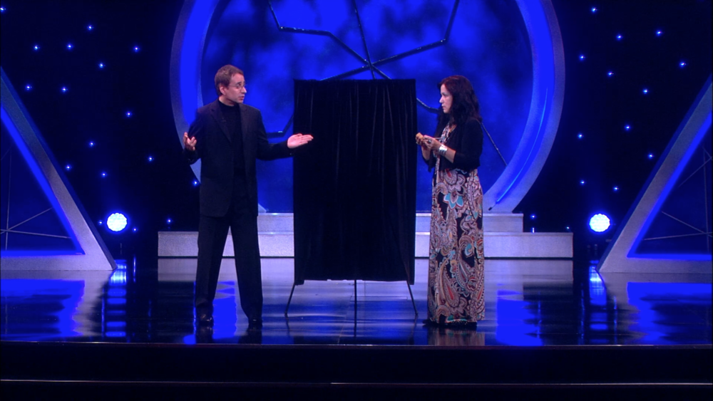 Lou Serrano on Masters of Illusion
