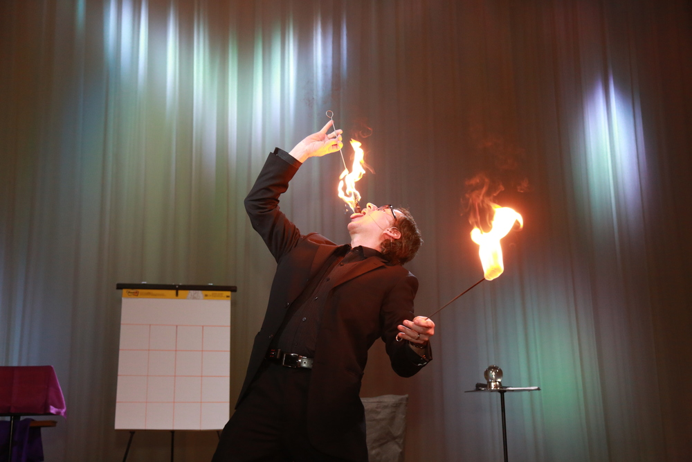 Fire Eating Opener - Lou Serrano