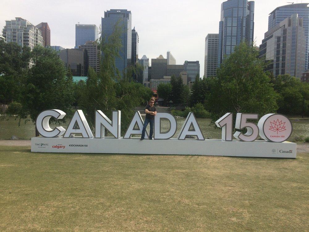 Lou Serrano at Prince's Island, Calgary, AB