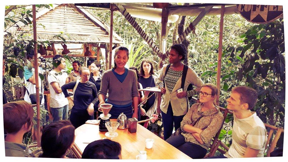 Visit us! - Visit our coffee farm shop & Roastery