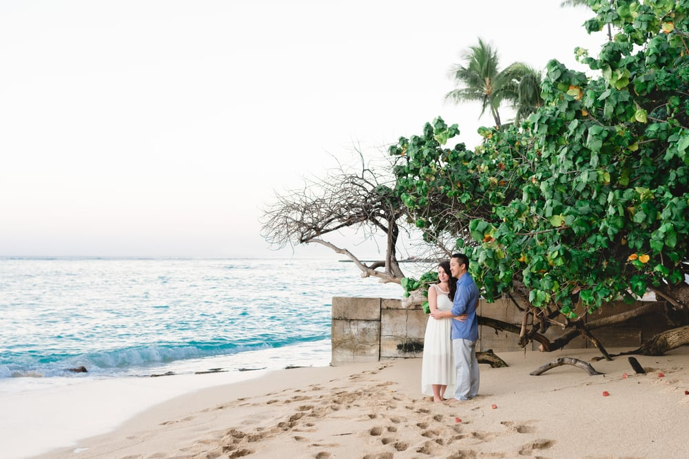 Waikiki Vow Renewal   Caroline Wilhite Photography