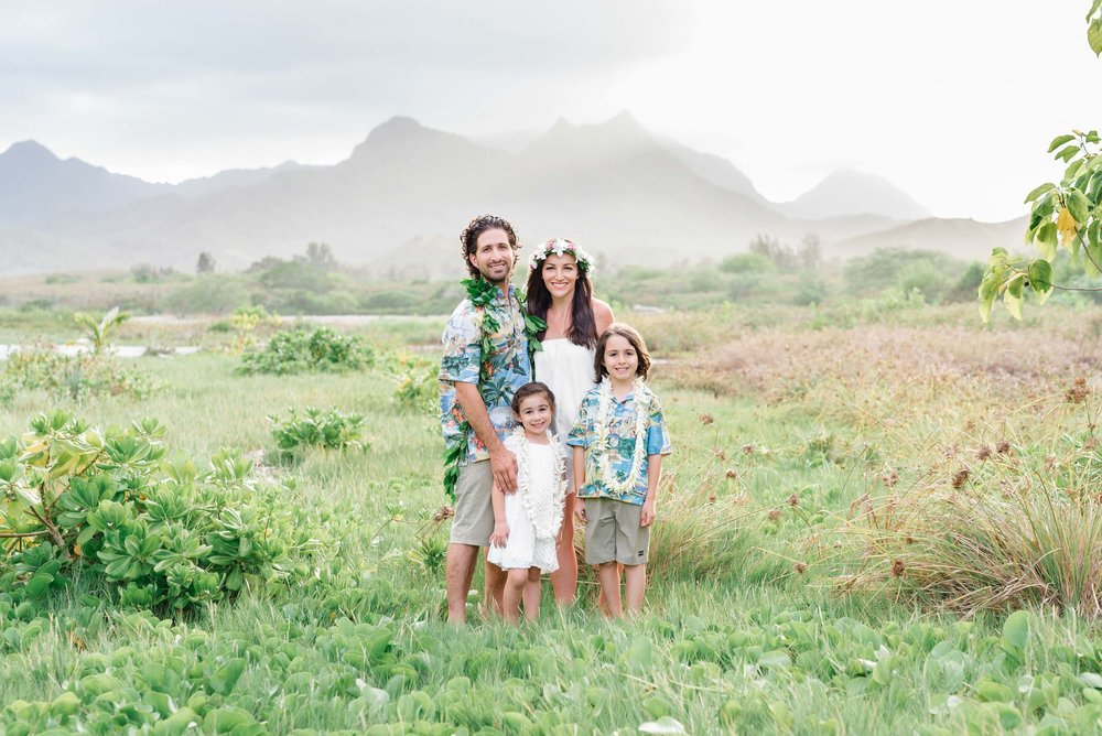 Oahu Family Photographers | Honolulu Beach Family Portrait Photographer