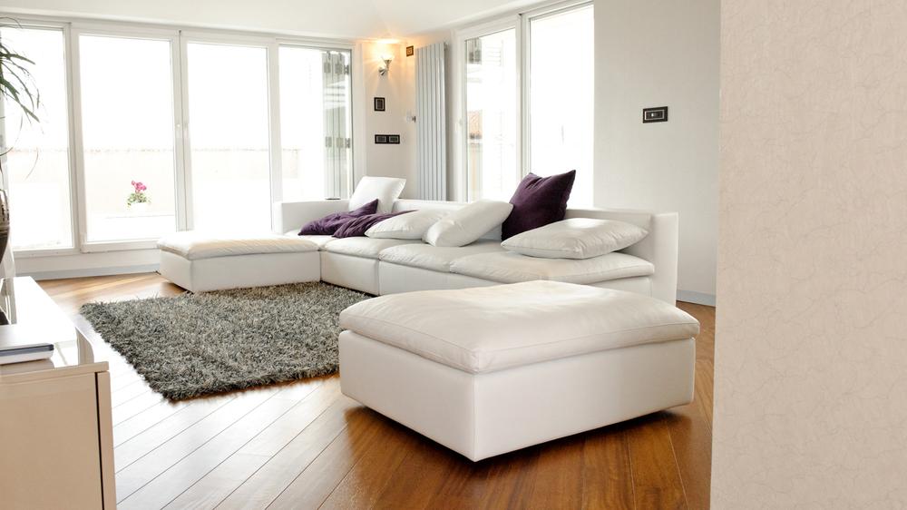 Room with underfloor heating