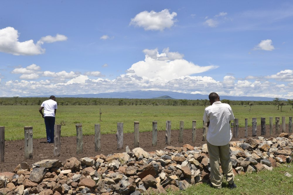 Visiting the wildlife corridors and structures that keep the rhinos safe within Ol Pejeta;