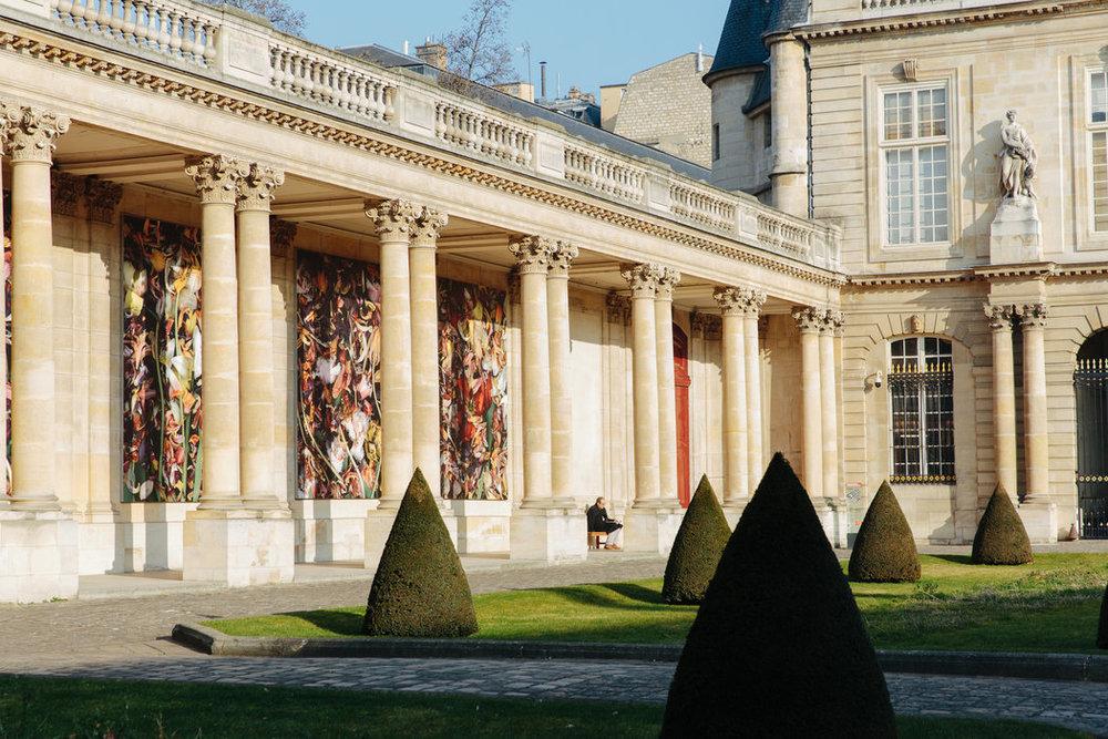 El palacio Hôtel de Soubise palace, del siglo XVIII, alberga los archivos nacionales de Francia.