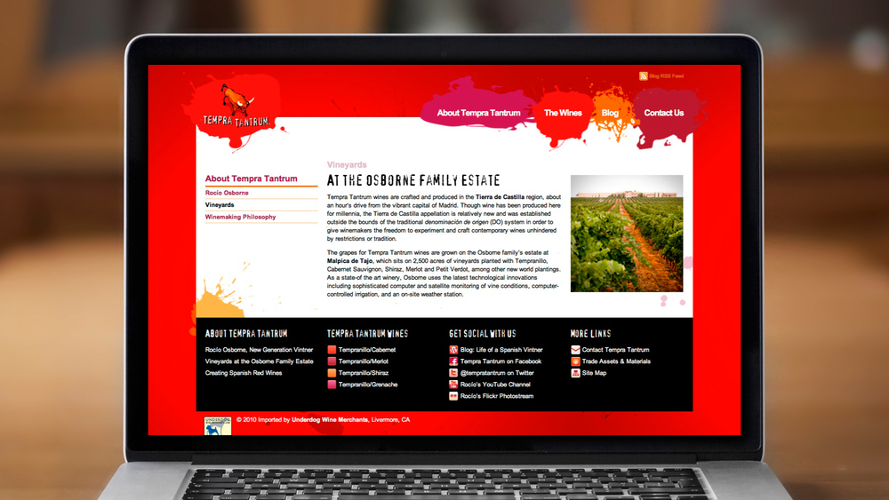 Web – About – Vineyards