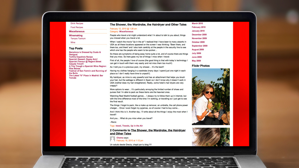 Web – Blog – Article Page