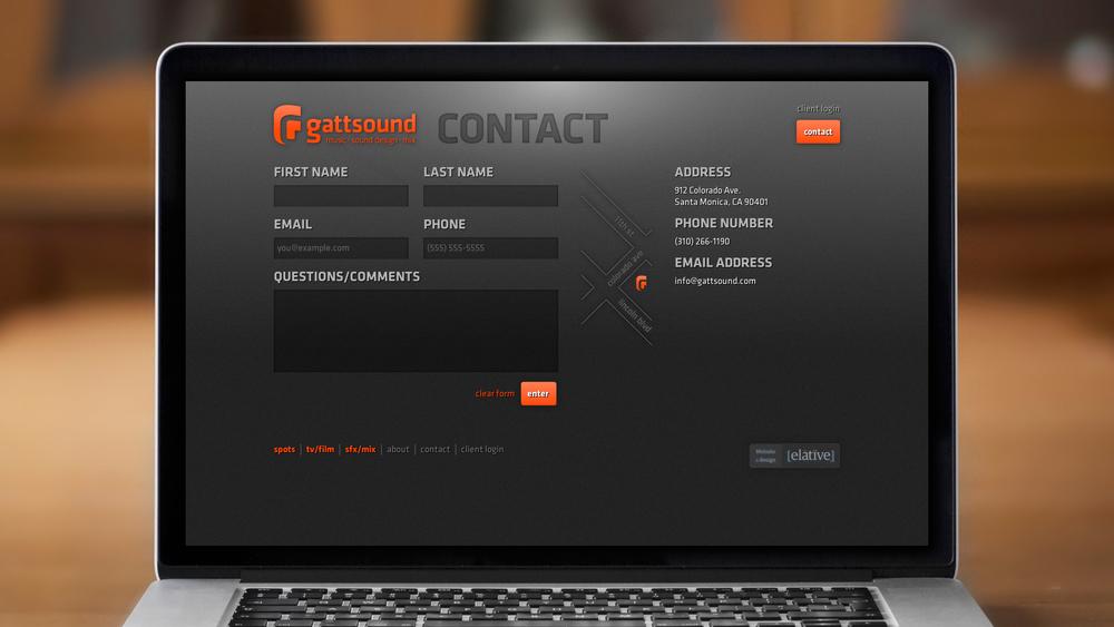Web – Contact