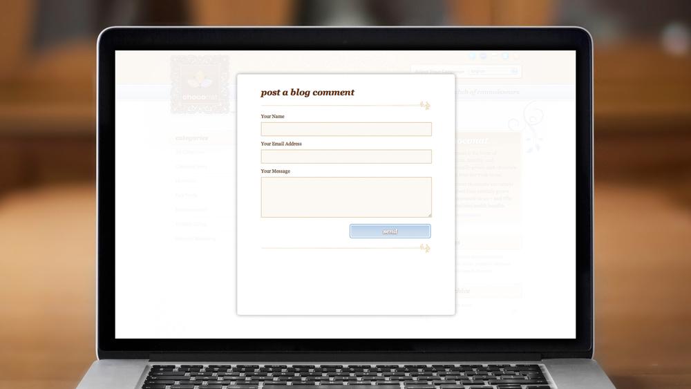 Web – Blog – Post a Comment