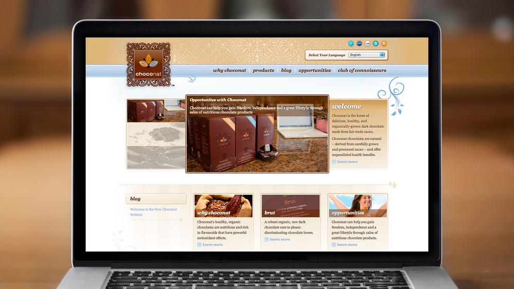 Web – Homepage