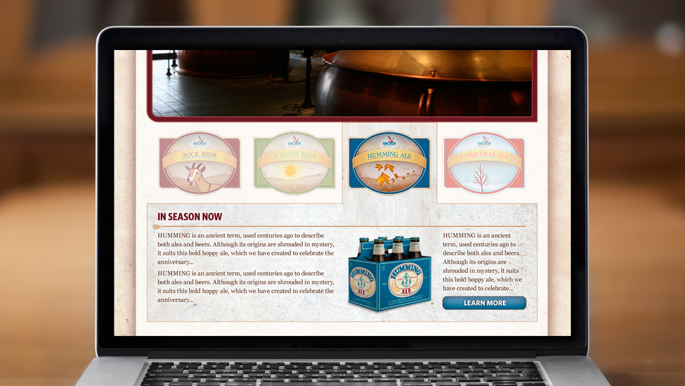 Web – Homepage (Middle)