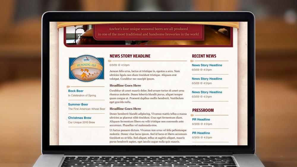 Web – News Article