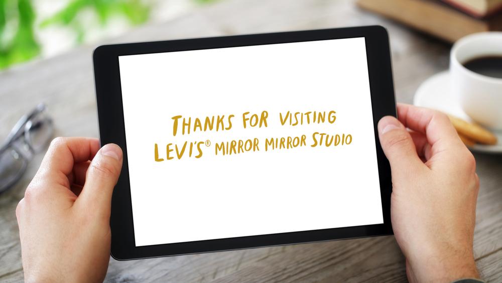 iPad Web App – Thank You