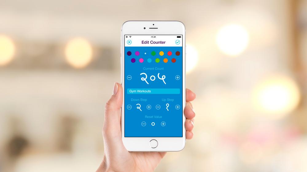 iOS App – Edit Counter