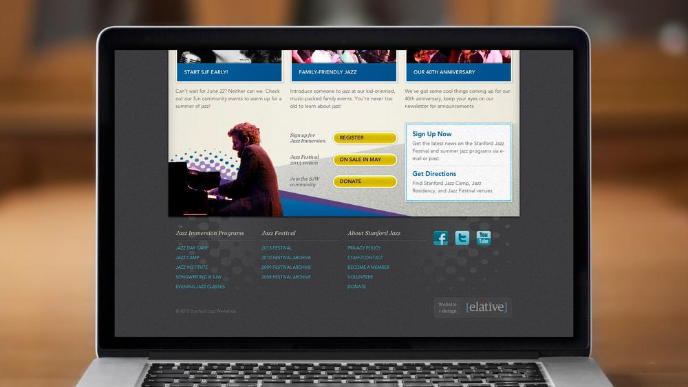 Web – Festival – Homepage (Bottom)