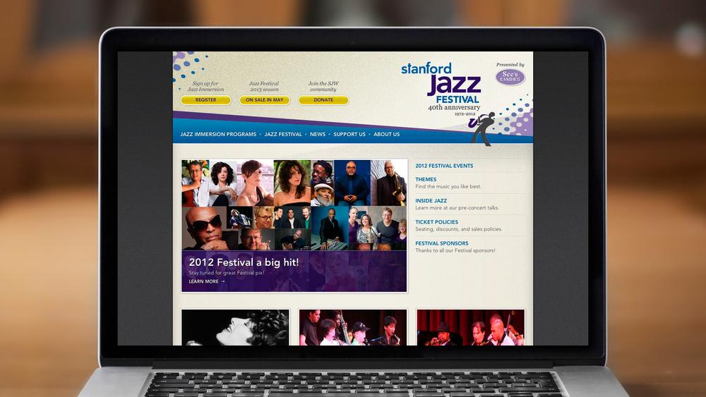 Web – Festival – Homepage (Top)