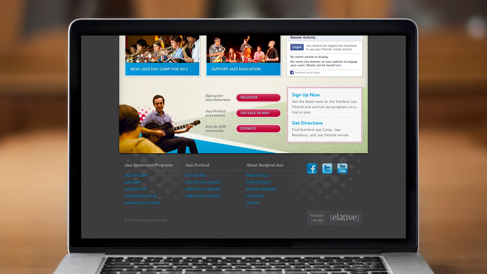 Web – Workshop – Homepage (Bottom)
