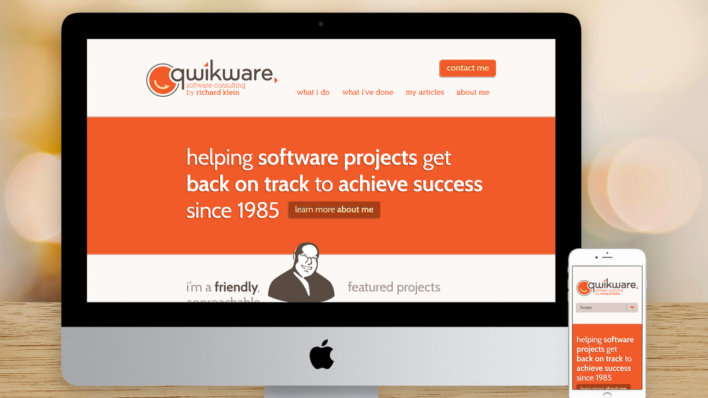 Responsive Website – Homepage (Top)