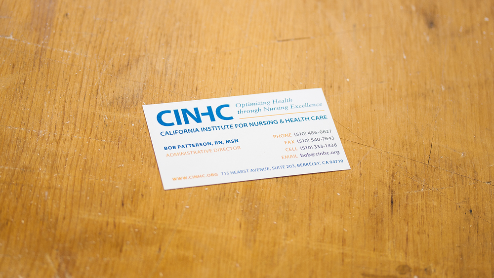 Print – Business Card (Front)
