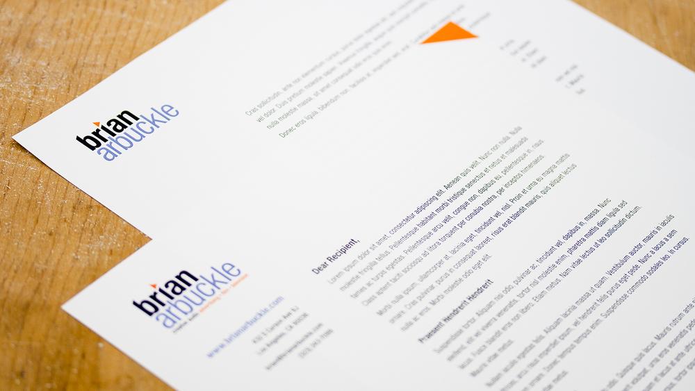 Print – Letterhead