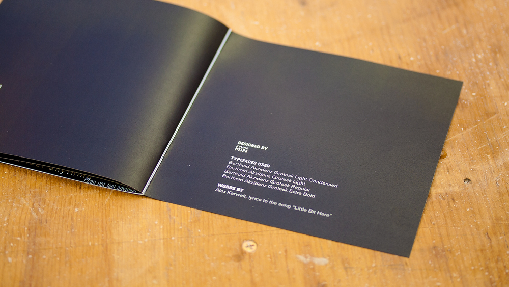 Print – Lyric Book – End