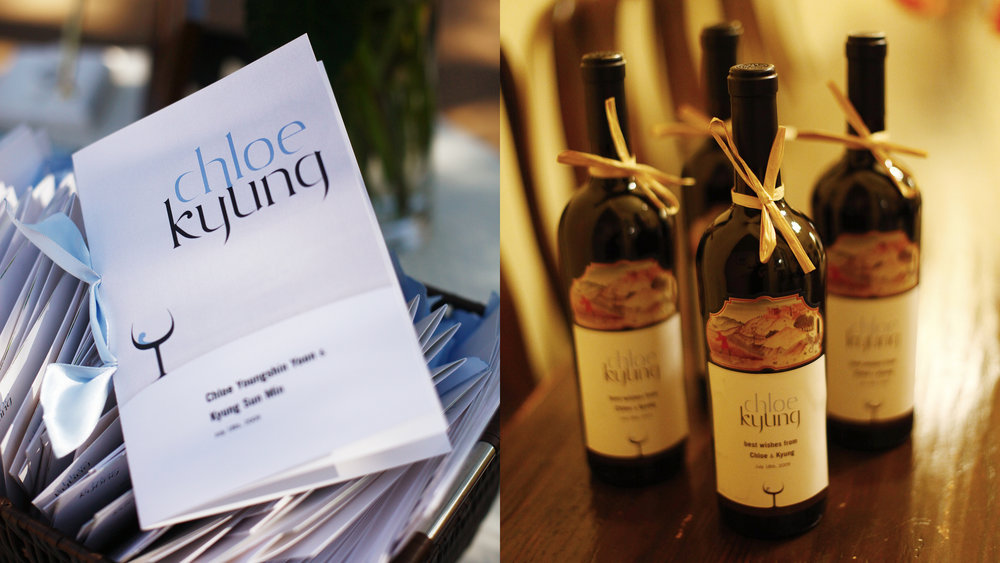 Print – Ceremony Programs & Guest Wine Gifts
