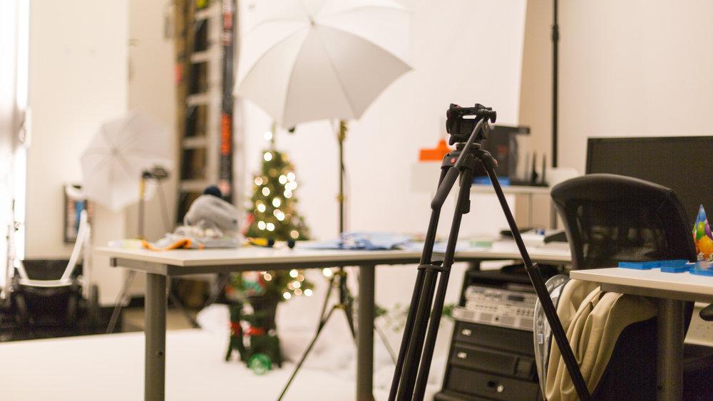 Office – Christmas Photo Shoot