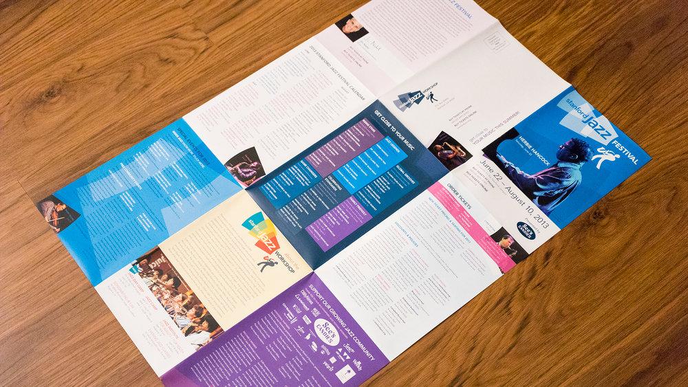 Print – Festival Mailer – Panels Side