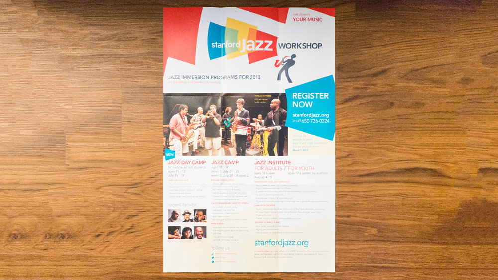Print – Workshop Mailer – Poster Side