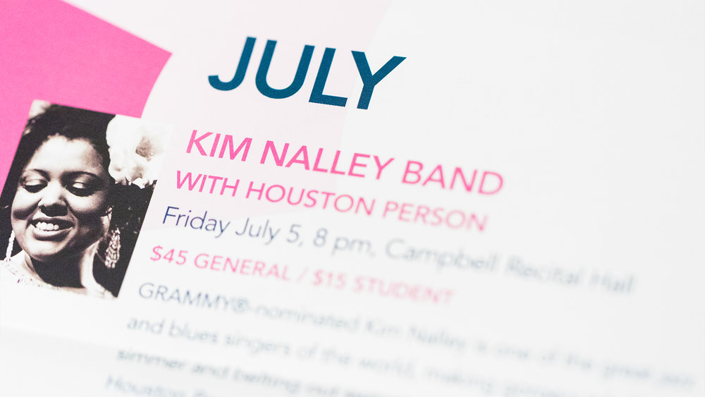 Print – Festival Mailer – Poster Side (Kim Nalley Close-Up)