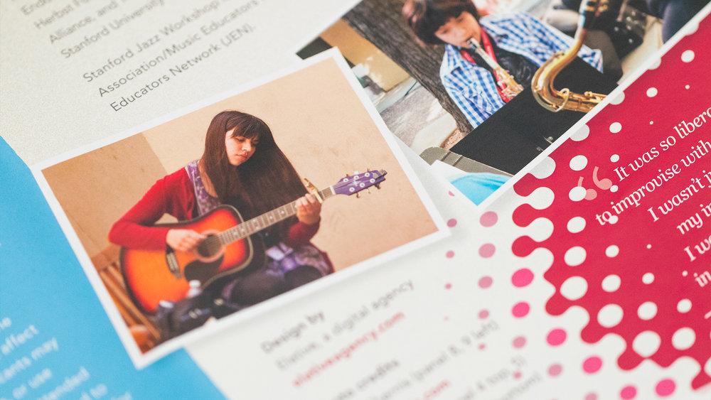 Print – Workshop Mailer – Panels Side (Credits Close-Up)