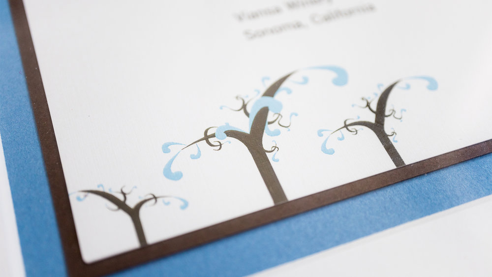 Print – Framed Invite (Vines Close-Up)