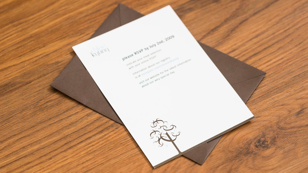 Print – Invitation Packet – RSVP