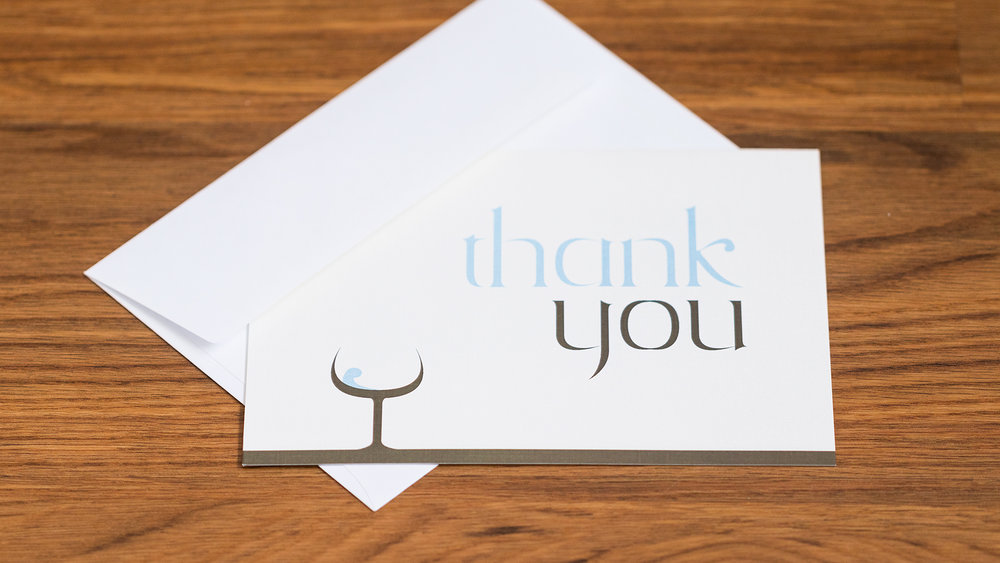 Print – Thank You Card – Cover